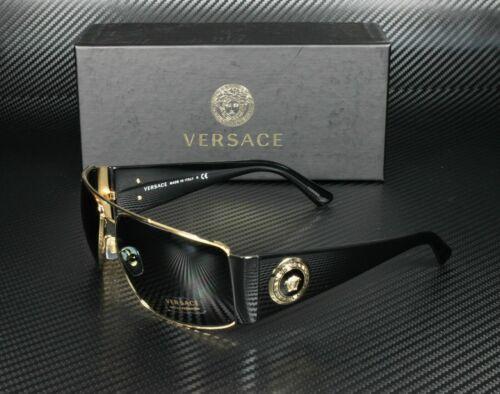 Versace VE2163 100287 Gold Grey Lens Men