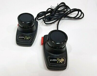 Atari Paddles Pair Tennis Pong Joystick 2600 Controller Vintage Video Game