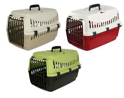 Transportbox 3 Farben Katzen kleine Hunde Katzentransportbox Hundetransportbox