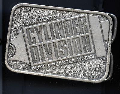 John Deere Belt Buckle Cylinder Division Plow & Planter Works
