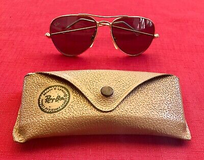 RAY BAN - B&L USA - Aviator Large - Sonnenbrille - Vintage - inkl. Etui