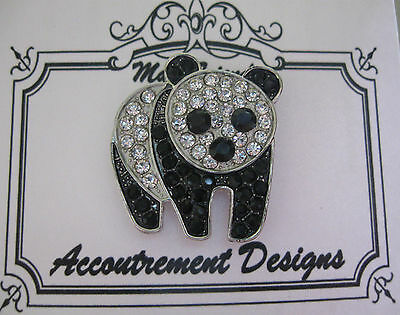 Needle Minder Magnet Panda Bear Accoutrement Designs Mag Friends Cross Stitch