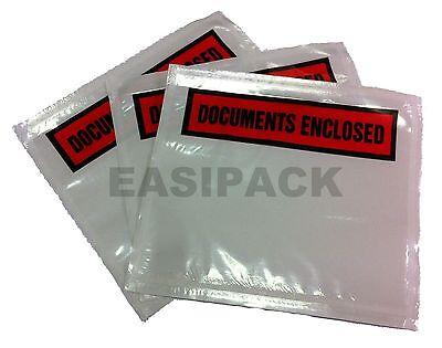 Printed Document Enclosed Envelopes (1000 Document Enclosed Envelopes Wallets - A7 size)