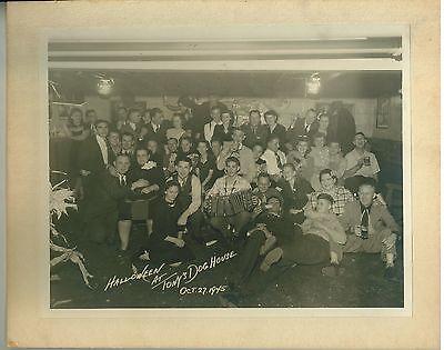 Music Halloween Photos (Photo 1945 Halloween Party at Milwaukee Tavern Tony's Dog)