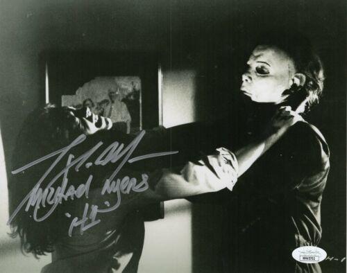 "Tony Moran Autograph Signed 8x10 Photo - Halloween ""Michael"" (JSA COA)"