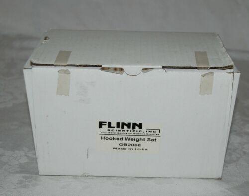 Flinn Scientific, Inc. 9 Piece Hooked Weight Set OB2066