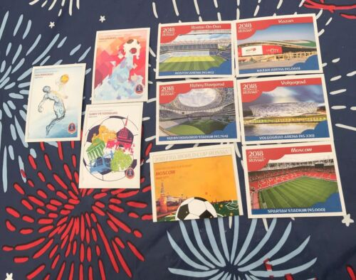 2018 Panini World Cup Stickers Russia Stadiums New