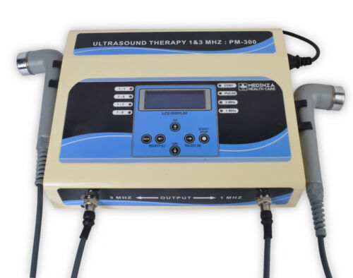 Ultra Prof. Ultrasound Therapy 1MHz - 3MHz Machine Physical Therasonic LCD Unit