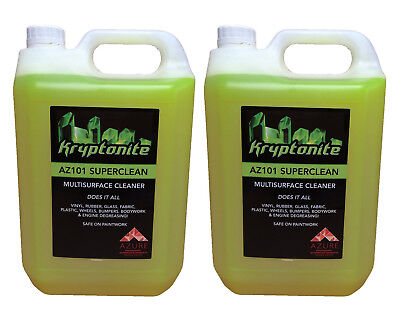 Kryptonite AZ G101 Super Clean Professional Strength Multi Purpose Cleaner -2x5L