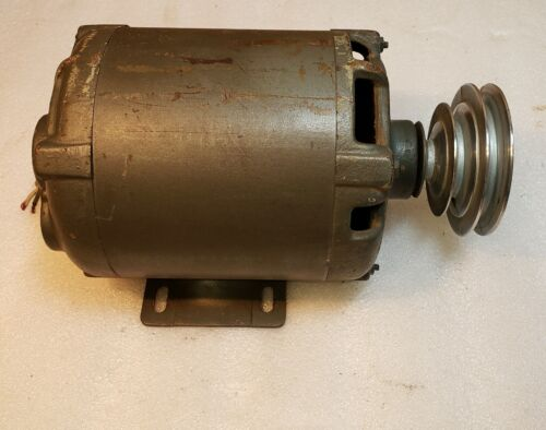 Vintage Shopsmith 10ER, A.O.Smith 1/2HP Motor with Pulley, Tested
