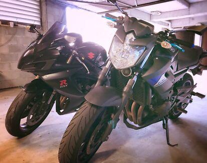 Motorcycle Yamaha XJ6 2014