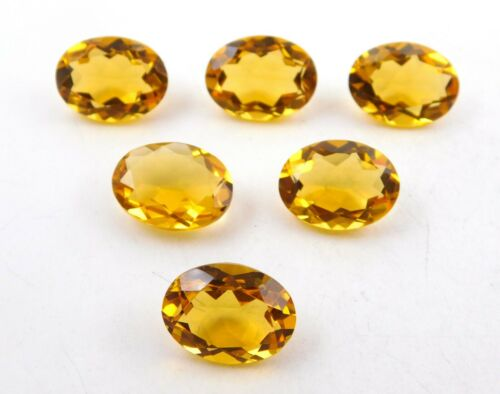 12X16  MM Oval Cut AAA+++ Quality Citrine Hydro Loose Gemstones Ring Size P-546