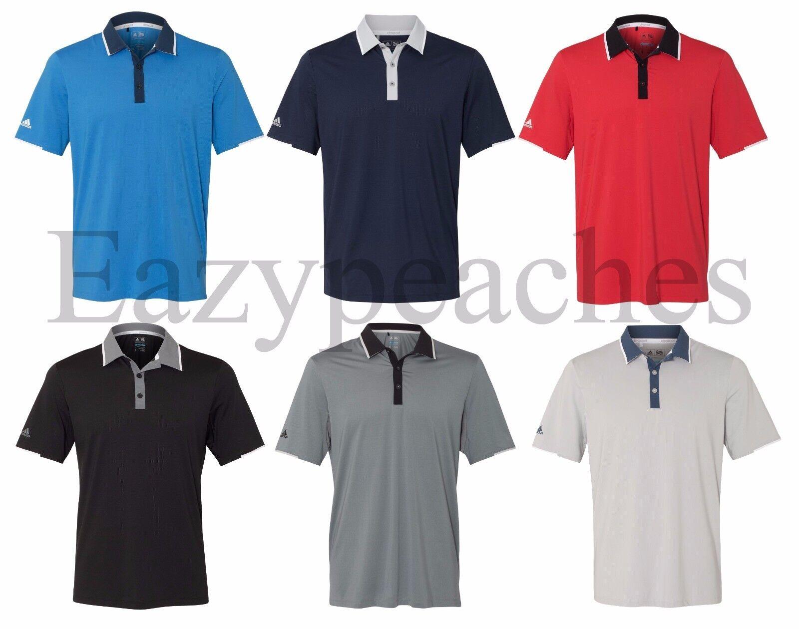 f62c9848db1 ADIDAS GOLF - Climacool Performance Polo Mens Size S-3XL Sport Shirt ...