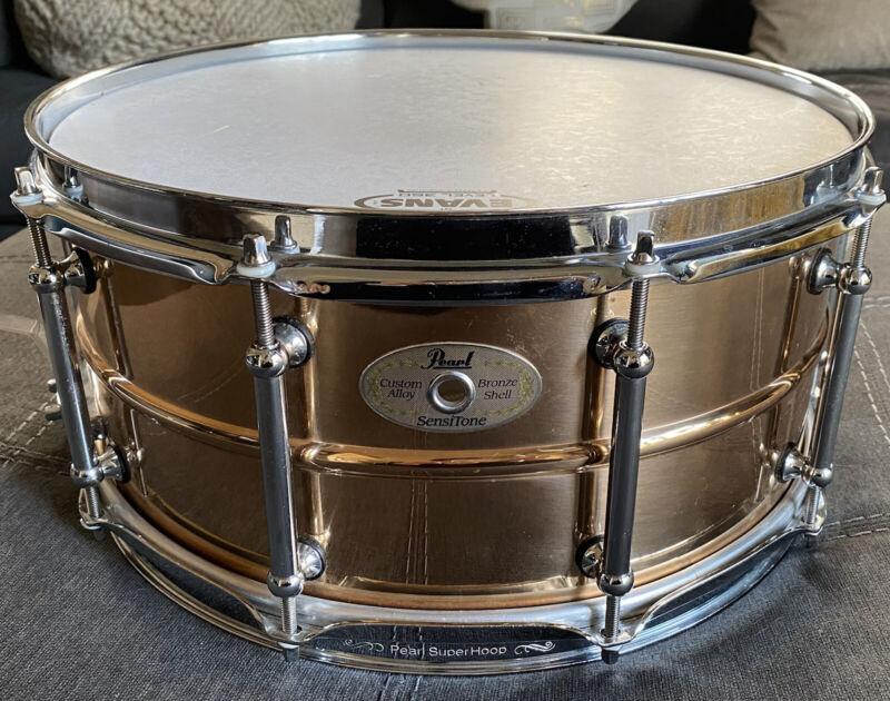Pearl SensiTone Custom Alloy Bronze Shell Snare Drum 14x6.5  *SATSPECIALPRICE*