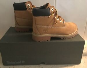 Genuine Timberland Kids Boots Size 13.
