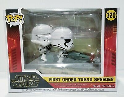 Funko POP! First Order Tread Speeder #320 Star Wars Movie Moments Vinyl.