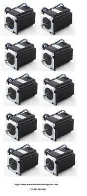 10pc Nema23 270ozin 2.8a 14 Dual Shaft Stepper Motor Kl23h276-28-4b