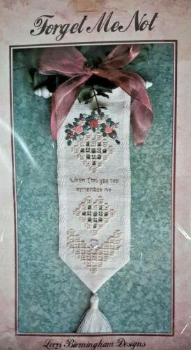 """Lorri Birmingham Designs """"Forget Me Not""""  Hardanger Kit"""