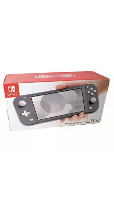 NEW Nintendo Switch Lite Handheld Video Game Console Color Gray