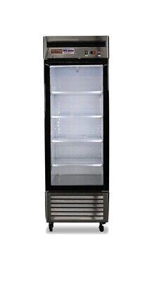 1 Glass Door Freezer Commercial Single Door Freezer Merchandiser Frozen Display