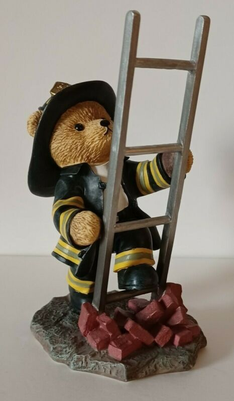 Faithful Fuzzies Firefighter 'Above And Beyond'  Brotherhood Bears Collection