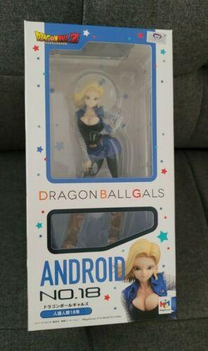 Open Box MegaHouse Dragon Ball Gals Android No.18 Dragon Ball Z PVC Figure