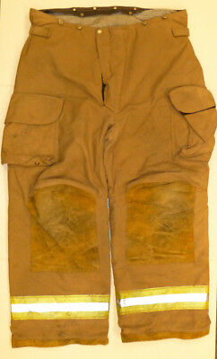 42r Pants Firefighter Turnout Bunker Fire Gear W Liner Janesville Lion P832