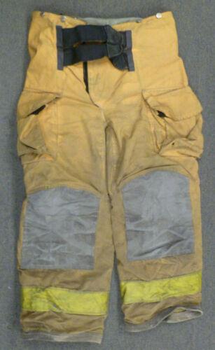 34x28 Janesville Tan Firefighter Pants Turnout Gear Bunker P016