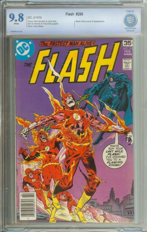 FLASH #258 CBCS 9.8 WHITE PAGES
