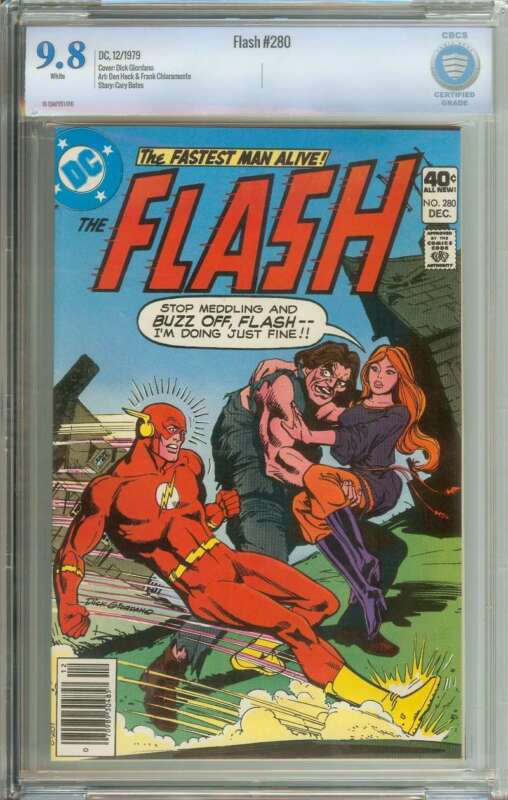 FLASH #280 CBCS 9.8 WHITE PAGES