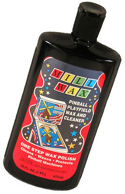 Mill Wax Pinball Machine Playfield Cleaner Polish FRESH STOCK! Millwax New!