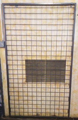 Metal Grid Wall With Shelves- Hammer Tone Color