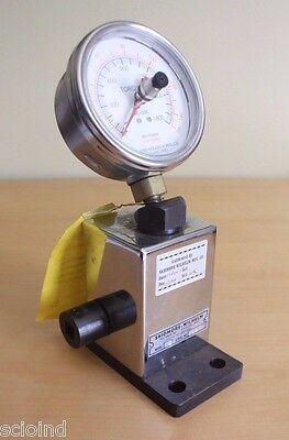 Skidmore Wilhelm Torque Wrench Calibrator Model Wd 150 Ft-lbs - Usff - C