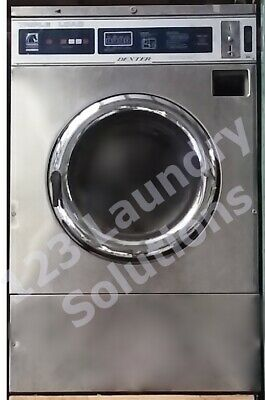 Dexter T400 Triple Load Washer Stainless Steel Front 3phase 208-240 Volts 60hz