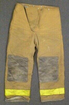 36x30 Globe Tan Firefighter Pants Turnout Bunker Fire Gear P079