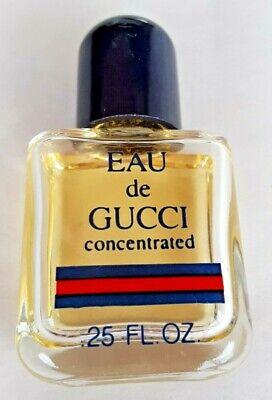 """Vintage1980's NEW ~ 3/4 GUCCI Eau De Parfum Perfume Collectible Mini Bottle 1"""""""
