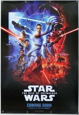 Star Wars The Rise of Skywalker - original DS movie poster 27x40 D/S INTL