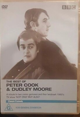 THE BEST OF PETER COOK & DUDLEY MOORE RARE DELETED DVD BRITISH COMEDY TV SHOW (Best British Comedy Shows)