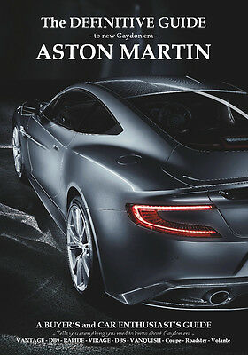 ASTON MARTIN BOOK - THE NEW DEFINITIVE GUIDE