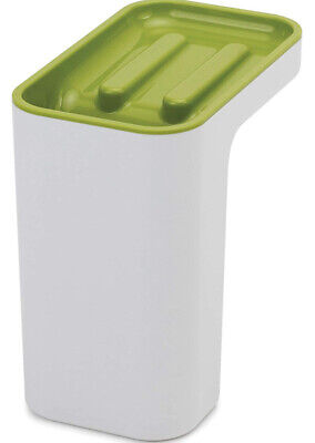 Joseph Joseph Sink Pod, Self-Draining Sink Tidy WHITE AND GREEN NEW OTHER 85126