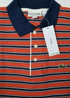 NEW Lacoste Men's Shirt Size FR 7 US X-Large Made in Peru Designed in France