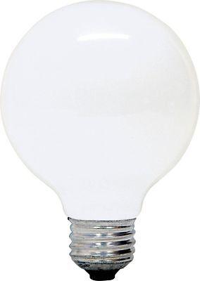 6 Pack : GE - 60 Watt G25 Incandescent Soft White Globe Light