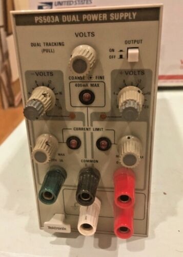 TEK PS-503A Dual Tracking Power Supply and Fixed +5VDC PS503A