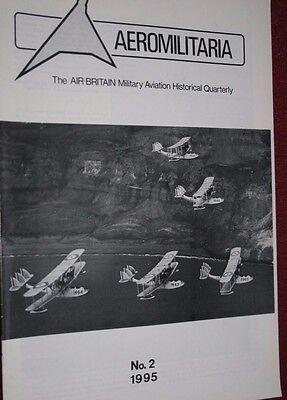 Air Britain Aeromilitaria Magazine 1995 No 2 Lockheed Hudson