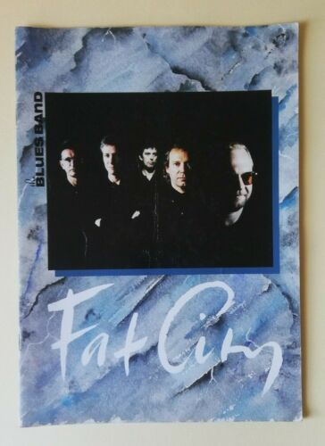 The Blues Band - Fat City Tour Programme (1991).