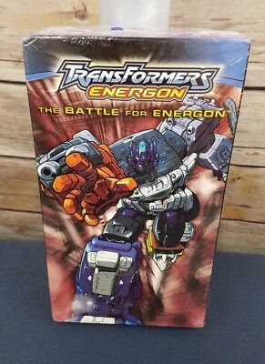 Transformers Energon VHS The Battle for Energon 2004 New Sealed
