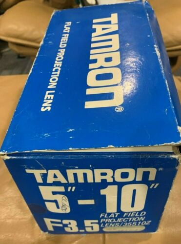 "Tamron 5""-10"" flat field projection lens F3.5"