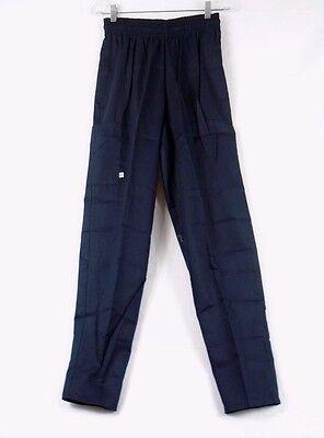 White Swan Five Star Unisex Chef Pants Black Size Medium 18100-015 268k