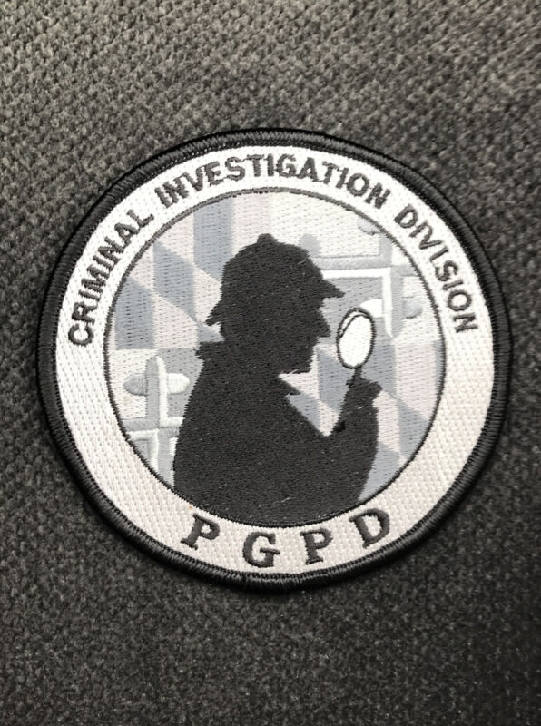 Prince George's County Maryland Criminal Investigation Division Police Patch MD