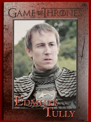 GAME OF THRONES - EDMURE TULLY - Season 3, Card #77 - Rittenhouse - 2014